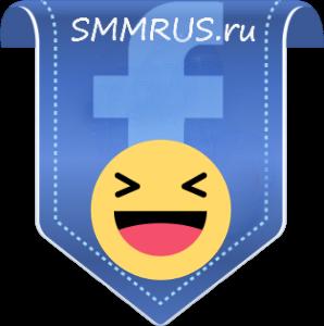 Facebook - Лайки (смайлик Ха-ха)